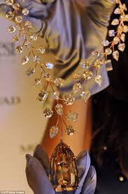 world s most expensive earrings world s most expensive necklace whose centrepiece was found by a