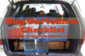survival truck gear best bug out vehicle checklist the bug out bag guide