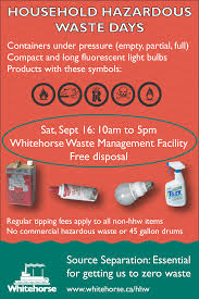 hazardous waste whitehorse yt