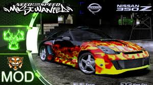 nissan 350z for sale cheap nissan 350z nfs most wanted 2005 mod youtube