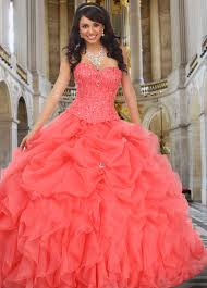 quinceanera dresses coral 80152 quinceanera dress 2 week delivery