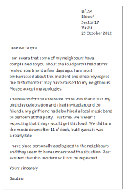 Regret Letter Unable To Join personal apology letter in of a friendly or personal apology