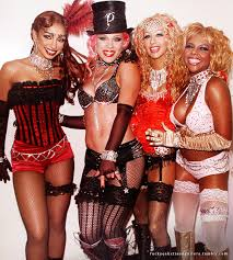Lil Kim Halloween Costumes Mya Nk Christina Aguilera U0026 Lil Kim Moulin Rouge Vintage