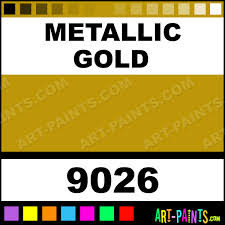 metallic gold colors egg tempera paints 9026 metallic gold