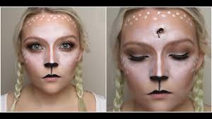 bambi deer makeup u0026 gun shot wound halloween sfx youtube