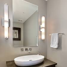 Modern Bathroom Vanity Lights How To Light A Bathroom Vanity Design Necessities Lighting