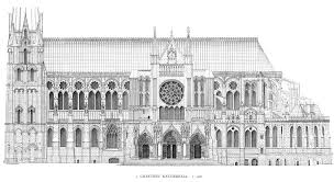 chartres cathedral elevation