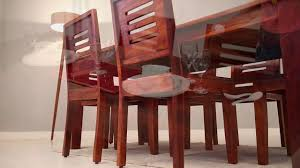 6 Seater Dining Table For Sale In Bangalore Dining Set Janet 6 Seater Dining Sets Online Wooden Street