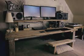bespoke chunky office computer workstation ideas for the house