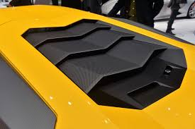 lamborghini aventador engine new giallo orion lamborghini aventador sv engine cover sssupersports