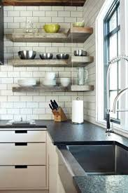 kitchen wall shelving ideas 25 space saving modern interior design ideas corner shelves