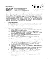 executive assistant sample resume skills executive assistant
