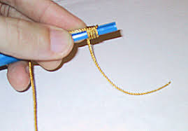 how to make a rosary knots in cord rosaries with