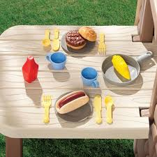 picnic on the patio playhouse for outdoor play at little tikes