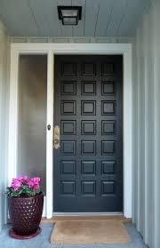 a black front door courtesy benjamin moore