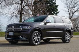 dodge durango review 2017 dodge durango citadel canadian auto review