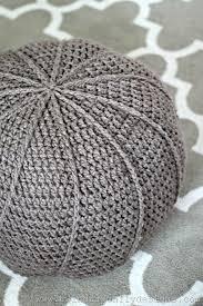 Hassock Vs Ottoman by Free Crochet Floor Pouf Pattern Dragonfly Designs