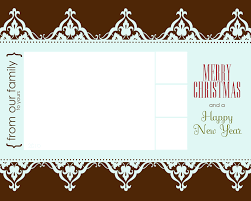 Christmas Cards Invitation Free Christmas Card Templates Cyberuse