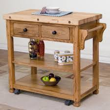 butcher block island tops oak wood kitchen storage cabinet curved