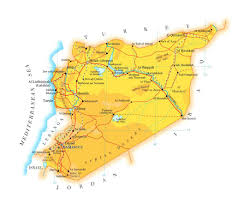 World Map Syria by Maps Of Syria Detailed Map Of Syria In English Tourist Map