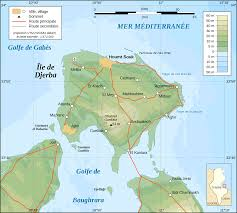 Michigan Topographic Maps by Djerba Topographic Map French U2022 Mapsof Net