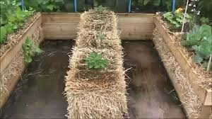 straw bale gardening with an rs combo raised bed garden youtube