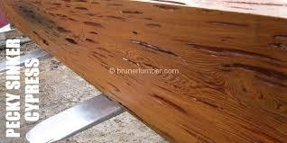 pecky sinker cypress bruner lumber