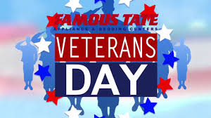 veterans day sales tax rebate at famous tate youtube