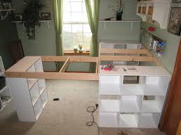 Diy Counter Height Table Home Decor Counter Heightaft Table With Storagediy Tablecounter