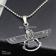 mens personalized necklace wholesale men necklace personailty titanium steel eagle pendant