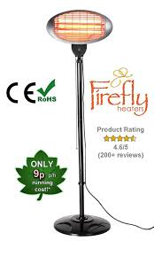 rent patio heaters firefly 2kw wall mounted infared quartz bulb electric outdoor