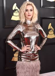 grammys 2017 katy perry u0027s platinum blonde hair is a standout on