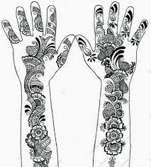 mehndi design drawing henna design patterns with mehndi design