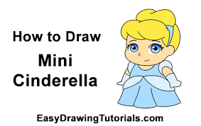 draw cinderella mini