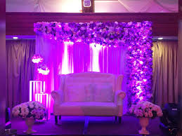 wedding backdrop manila alvin and buena s shades of purple wedding twinsome events
