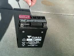 honda rebel 250 battery replacement www motohowto com