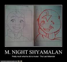M Night Shyamalan Meme - 5 ways to destroy your brand by m night shyamalan imagination