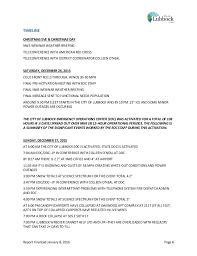 lubbock power light lubbock tx city of lubbock blizzard report january 14 2016