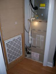 another gas furnace in a closet question internachi