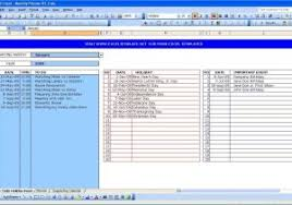 Ms Excel Templates For Project Management Free Microsoft Excel Project Plan Template Project Management