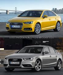2016 audi a4 b9 vs 2013 audi a4 b8 u2013 old vs new cars