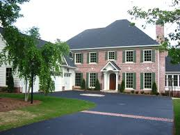 brick colonial house plans 5 bedroom 5 bath colonial house plan alp 096p allplans com