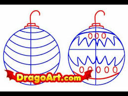 how to draw ornaments step by step