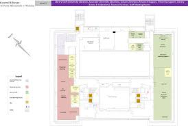 Floor Plan Library by Central Library Floor Plans University Of Canterbury