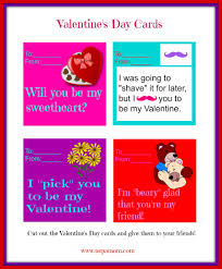 printable valentine u0027s day cards nepa mom