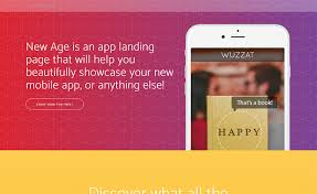 free responsive one page app landing bootstrap template download