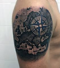 tattoo compass realistic 90 artistic and eye catching compass tattoo designs