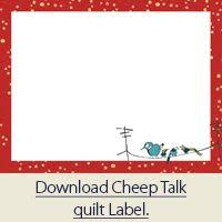 nice collection of quilt label templates and instructions how to