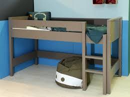 chambre fille lit mezzanine tendance le lit mezzanine décoration