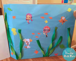 the daily diyer bubble guppies party decor ideas for rylie u0027s
